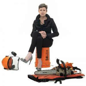 meg with tools